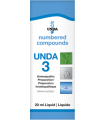 UNDA 3 Homeopathic Remedy