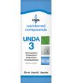 UNDA 3 Homeopathic Remedy